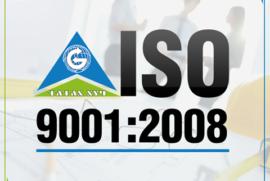 Олон Улсын Стандартын Байгууллагаас ISO9001:2008 чанар стандартын батламжаа гардан авлаа.